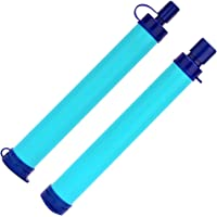 AIYEGO Water Filter, Portable Gear Personal Straw Water Purifier for Hiking, Camping, Hunting, Fishing, Travel Drinking…