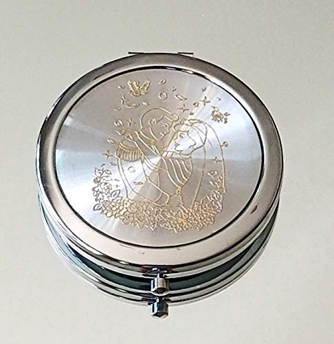 12xBRIDE AND GROOM GOLD COMPACT MIRROR WEDDING SHOWER GIFT FAVORS ROMANTIC ()