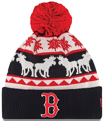 "Boston Red Sox New Era MLB ""Mooser"" Cuffed Knit Hat"