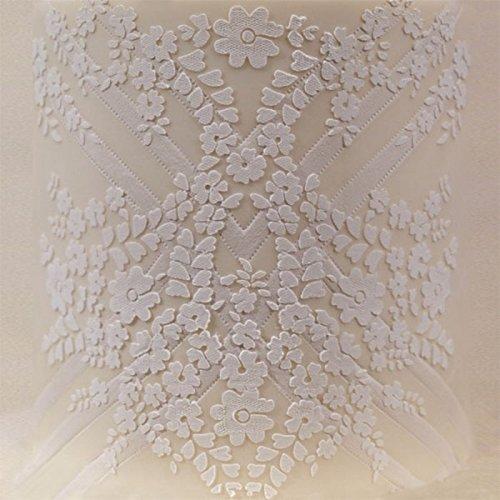 1 piece Yueyue Sugarcraft Flower cake lace stencil