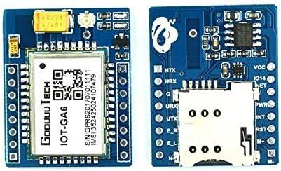 YUANNIN 10PCS Smart Electronics GPRS A6 GA6 Module Wireless Extension Module GSM GPRS Board Antenna Supper SIM900A