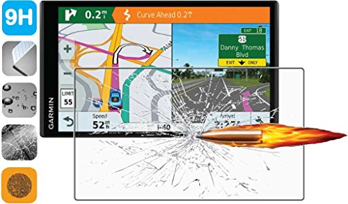 Premium Clear 9H Tempered Glass Screen Protector for Garmin DriveSmart 61 LMT-S LMT-D 61LMT-D 61LMT-S GPS