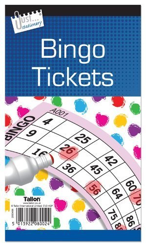 Jumbo Bingo Book / Pad 480 Tickets. 6 to View Buy 1 Get 1 FREE (Big, bold, easy to read numbers) by Concept4u]()