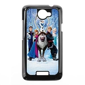 Frozen Cartoon HTC One X Cell Phone Case Black 218y-873645