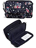 Vera Bradley Iconic RFID All in One Crossbody, Signature Cotton, Go Fish, Go Fish, One Size