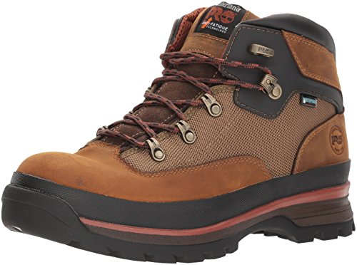 Timberland PRO Men's Euro Hiker Industrial Boot, Taupe, 13 W US -