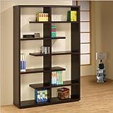 Coaster Bookshelf, Cappuccino Review