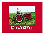 International Harvester McCormick Farmall Fleece Blanket Featuring Model C Tractor
