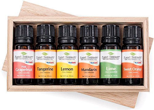 Sweet Pink Grapefruit (Plant Therapy FRUITS- 6 Essential Oil Sampler Set. Includes 100% Pure, Undiluted Essential Oils of: Sweet Orange, Pink Grapefruit, Lime, Lemon, Tangerine and Mandarin. 10 ml (1/3 oz) each.)