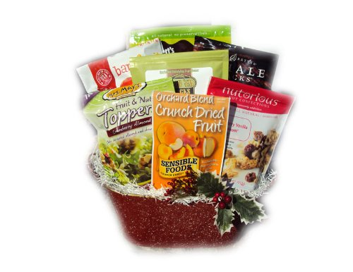 Gluten Free Christmas Gift Basket by Well Baskets