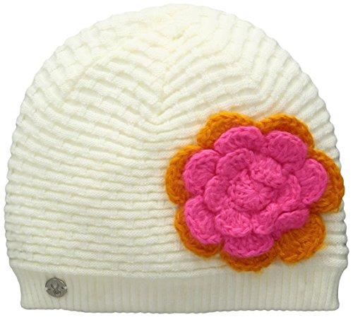 Spyder Girls Bitsy Rosie Hat, White/Edge/Bryte Bubblegum, One Size