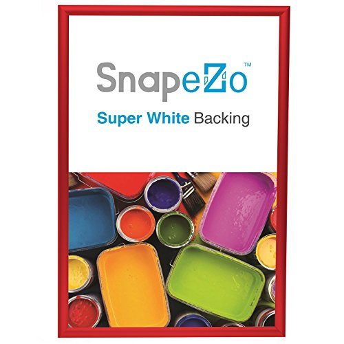 - SnapeZo Poster Frame 18x24 Inch, Red 1