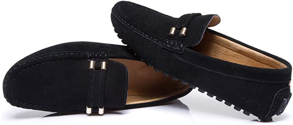 Mens Autumn Winter Velvet Warm Style Driving Loafers Casual Classic Boat Moccasins Conventional Optional CHENDX Shoes