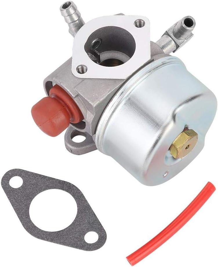 Carburador cortacésped con junta, accesorios de repuesto aptos para Tecumseh 640350 640303 640271-3.4 x 3.2 pulgadas