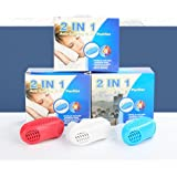 2 IN 1 Anti Snoring&Air Purifier-Comfortable sleep to prevent snoring air purifying respirator