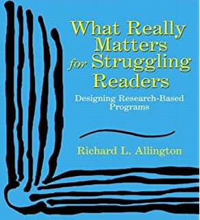 Amazon com: What Really Matters for Struggling Readers