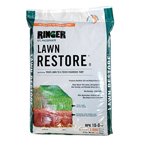 Safer Brand Ringer Lawn Restore, Lawn Fertilizer - 25 Pounds by Safer Brand