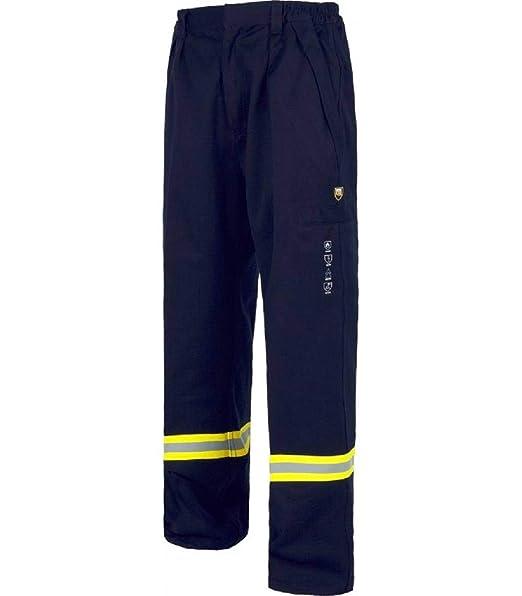 WORKTEAM Pantalón de Industria con Cintura elástica y Cremallera de Metal Oculta: Amazon.es: Ropa y accesorios