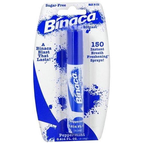 (Binaca Concentrated Peppermint Breath Spray, .2 oz)
