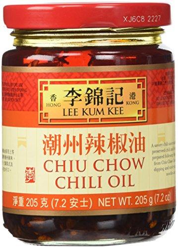 Lee Kum Kee Chiu Chow Chili Oil net wt. 205g (Hot Chili Oil)
