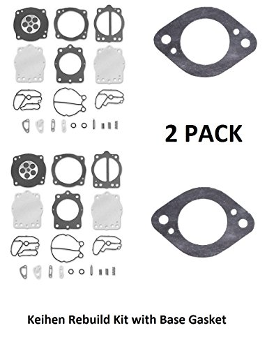 Keihin Dual Carb Kit with Base Gaskets Compatible with Polaris 700 SLT Sl SLH SLTH