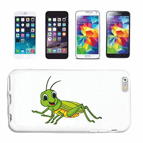 """cas de téléphone iPhone 6+ Plus """"PETITE HEUREUX GRILLE GRILLE GRASSHOPPER INSECTES FIELD Sauterelle Sauterelle GRASSHOPPER MOUCHES Odland EFFROI"""" Hard Case Cover Téléphone Covers Smart Cover pour Appl"""