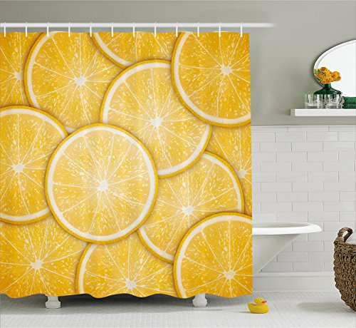 Curtain Ambesonne Inspired Artprint Bathroom