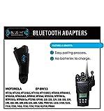 New BlueWi Bluetooth QR Adapter for Motorola HT750 HT1250 HT1250LS HT1550 T1550XLS MTX850 MTX850LS MTX950 MTX960 MTX8250 MTX8250LS MTX9250 PRO5150 PRO5350 PRO5450 PRO5550 PRO5750 PRO7150 PRO7350 PRO7450 PRO7550 PRO7750 PRO9150 PTX700 PTX760 PTX780 GP140 GP320GP328 GP329 GP338 GP339 GP340 GP360 GP380 GP600 GP640 GP650 P680 GP1280 series radio