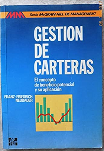 Amazon.com: Gestion de Carteras (Spanish Edition) (9788476157299): Neubauer: Books