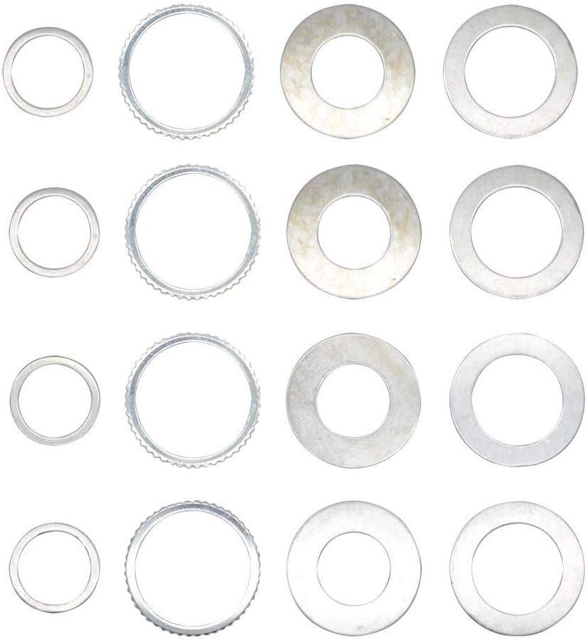 Lot de 4 bagues de r/éduction pour scie circulaire 30 x 25.4 Lames de scie circulaire