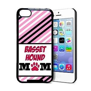 Tony Diy Basset Hound Mom iPhone lCKBZPloiFU 5c case cover - Fits iPhone 5c