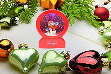 red or white available Christmas musical lantern design may vary