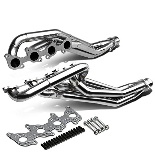 DNA Motoring HDS-FM11-LT Stainless Steel Exhaust Header Manifold