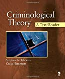 img - for Criminological Theory: A Text/Reader (SAGE Text/Reader Series in Criminology and Criminal Justice) by Tibbetts, Stephen G., Hemmens, Craig T.(October 15, 2009) Paperback book / textbook / text book
