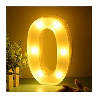 Lumineux En Chiffres Led Forme De 0123456 Dubens Lampe qGUVSMzp