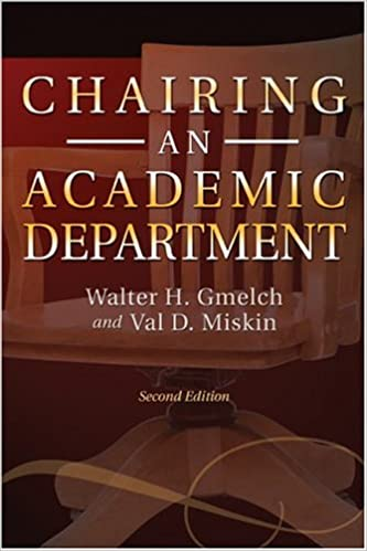 Chairing an Academic Department book cover