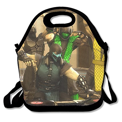 smoke-ermac-sub-zero-reptile-lunch-tote-bag