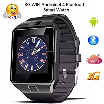 I-Tek ® sw09 Android 4.4 SmartWatch Reloj conecta WiFi 3 G ...