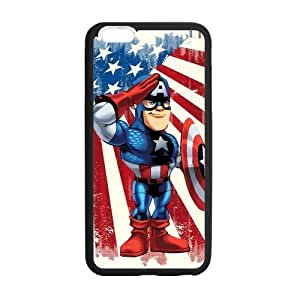 """Classic Style Custom Silicone Hard Rubber Protector Case for iPhone6 Plus 5.5"""" - Marvel's The Avengers"""