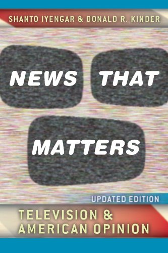 Download News That Matters: Television and American Opinion, Updated Edition (Chicago Studies in American Politics) Pdf