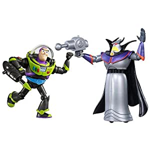 Disney / Pixar Toy Story Exclusive To Infinity And Beyond Space Mission Action Figure 2Pack Buzz Lightyear Zurg