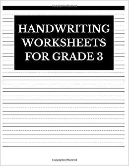 Amazon.com: Handwriting Worksheets For Grade 3: Lined ...