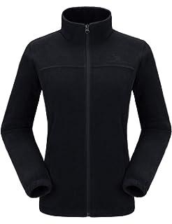 3810e4054171e CAMEL CROWN Women Full Zip Fleece Jackets with Pockets Soft Polar Fleece  Coat Jacket Sweater for