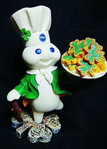 Pillsbury Doughboy 2002 Danbury Mint Rare Retired Cold Cast Porcelain 6