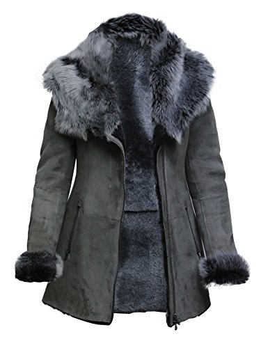 Suede Merino Shearling Jacket - 4