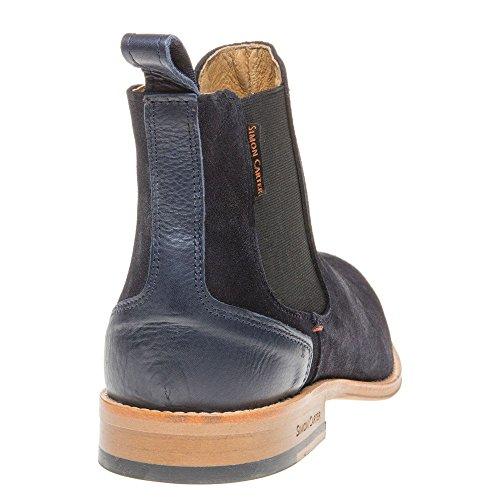 Mens Blu Simon Carter Elgar Boots