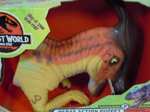 Jurassic Park The Lost World Parasaurolophus Action Puppet