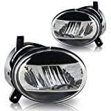 audi a4 b8 headlight bulbs - Premium 2009-2012 Audi A4 B8 LED Fog Lights Replacement Clear Lens L + R Pair