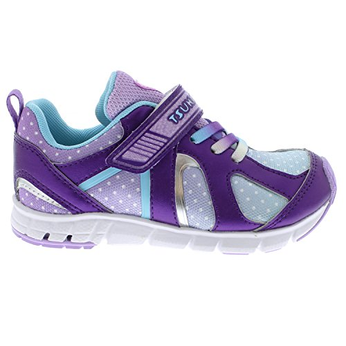 Tsukihoshi Light Sneaker Blue Girls' Purple Rainbow aFaxvw