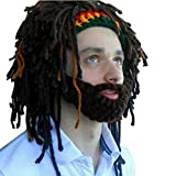Best Funny Party Hats Costumes - Creative Mask Wig Funny Knit Wool Crazy Funny Review